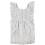 First Impressions Girls Apron A-line Dress