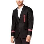 I-N-C Mens Track Star Two Button Blazer Jacket