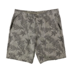 Tasso Elba Mens Printed Casual Chino Shorts