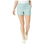 maison Jules Womens PolkaDot Casual Chino Shorts
