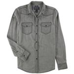 American Rag Mens Western Button Up Shirt