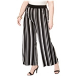 I-N-C Womens Urban Jungle Casual Wide Leg Pants