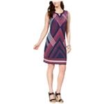JM Collection Womens Petite Embellished Keyhole Sheath Dress