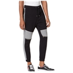 I-N-C Mens Quilted Athletic Track Pants