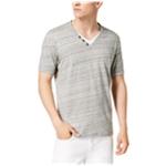 I-N-C Mens Split-Neck Henley Shirt