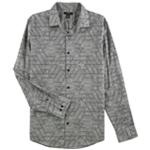 Alfani Mens LS Button Up Shirt