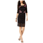 Thalia Sodi Womens Lace A-line Dress