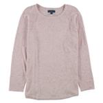 Karen Scott Womens Curved-Hem Knit Sweater