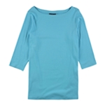 Karen Scott Womens Tunic Basic T-Shirt