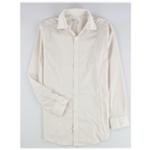 bar III Mens Square Dobby Button Up Dress Shirt
