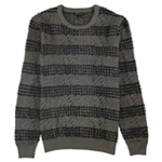 I-N-C Mens Chunky Striped Pullover Sweater