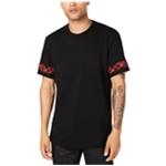 I-N-C Mens Tweak Plaid Basic T-Shirt