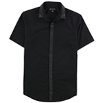 I-N-C Mens Sateen Button Up Shirt