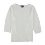 Karen Scott Womens Luxsoft Pullover Sweater