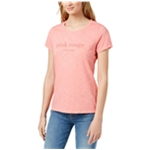 maison Jules Womens Pink Rouge Graphic T-Shirt
