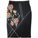 Alfani Womens Printed Scuba Pencil Skirt