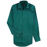 Alfani Mens Stretch Performance Button Up Dress Shirt