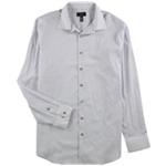 Alfani Mens Circle & Geometric Button Up Dress Shirt