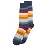 bar III Mens Striped Dress Socks