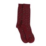 bar III Mens Floral Print Dress Socks