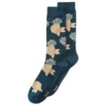 bar III Mens Floral Dress Socks