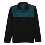 Alfani Mens Colorblock 1/4 Zip Jacket