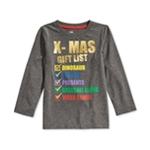 Epic Threads Boys X-Mas Gift List Graphic T-Shirt