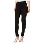 I-N-C Womens Satin Stripe Casual Leggings