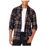 American Rag Mens Kendrick Flannel Button Up Shirt