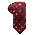Club Room Mens Reindeer Self-tied Necktie