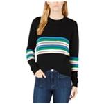 maison Jules Womens Novelty Stripe Knit Sweater