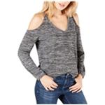 I-N-C Womens V-Neck Cold Shoulder Blouse