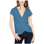 I-N-C Womens Twisted Pullover Blouse