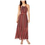 I-N-C Womens Pleated Maxi Dress