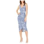 I-N-C Womens Tulip-Bottom Sheath Dress