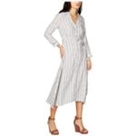 I-N-C Womens Striped Shirt Dress