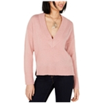 bar III Womens V-Neck Pullover Sweater