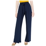 bar III Womens Tie-Front Casual Wide Leg Pants
