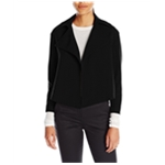 Anne Klein Womens Open-Front Cropped Jacket