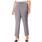 Anne Klein Womens Straight-Leg Casual Trousers