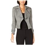 Anne Klein Womens Houndstooth Jacket