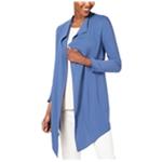 Anne Klein Womens Asymmetrical Jacket