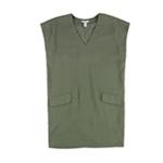 bar III Womens Textured Shift Dress