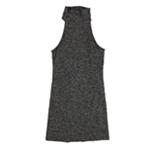 bar III Womens Knit Turtleneck Shift Dress