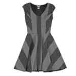 bar III Womens Fit & Flare A-line Dress