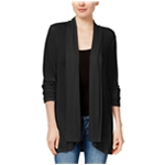 Style & Co. Womens Solid Open Front Cardigan Sweater