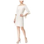 Thalia Sodi Womens Off-The-Shoulder Shift Dress