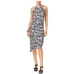 Thalia Sodi Womens Asymmetrical Shift Dress