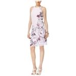 Thalia Sodi Womens Printed A-line Dress