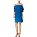 Thalia Sodi Womens Tiered A-line Dress